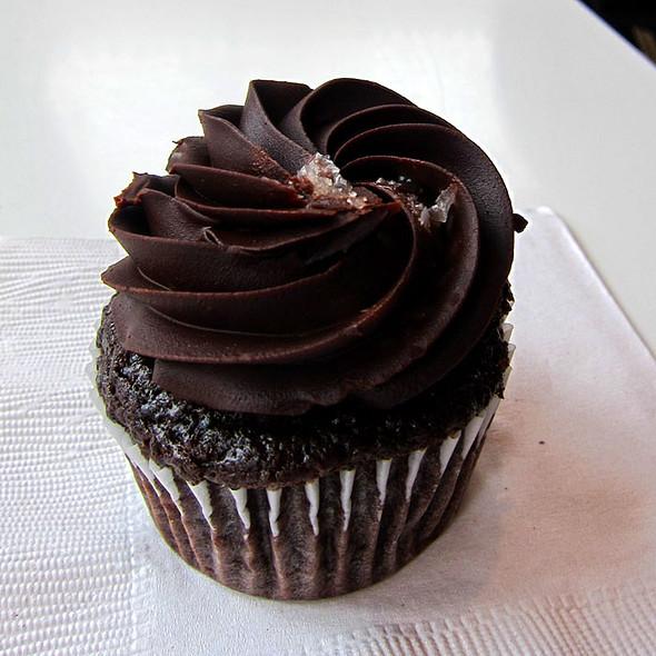 Chocolate With Sea Salt Cupcake @ Kara's Cupcakes