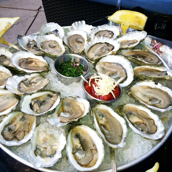 """Oysters"" on the Half Shell - Oceanaire Seafood Room - Minneapolis, Minneapolis, MN"