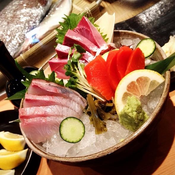 assorted sashimi @ Pabu Restaurant