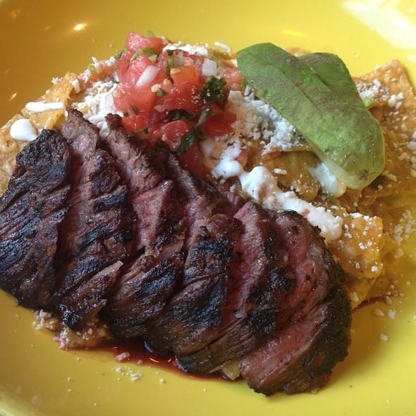 Steak Chilaquiles @ MXco