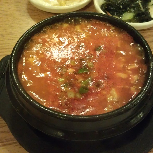 Soondubu Chigae @ Sodam Korean House