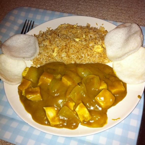 Chicken Curry @ Matthew's House