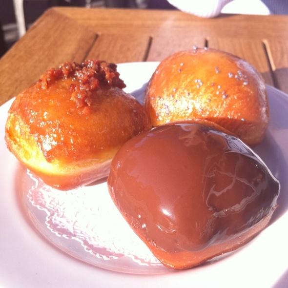 Freshly Fried Doughnut Holes @ Birch & Barley