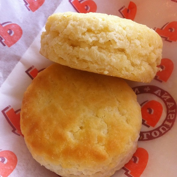 buttermilk biscuits @ Popeyes Chicken