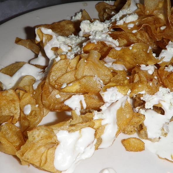 Blue Cheese Chips @ Rock Bottom Restaurant & Brewery