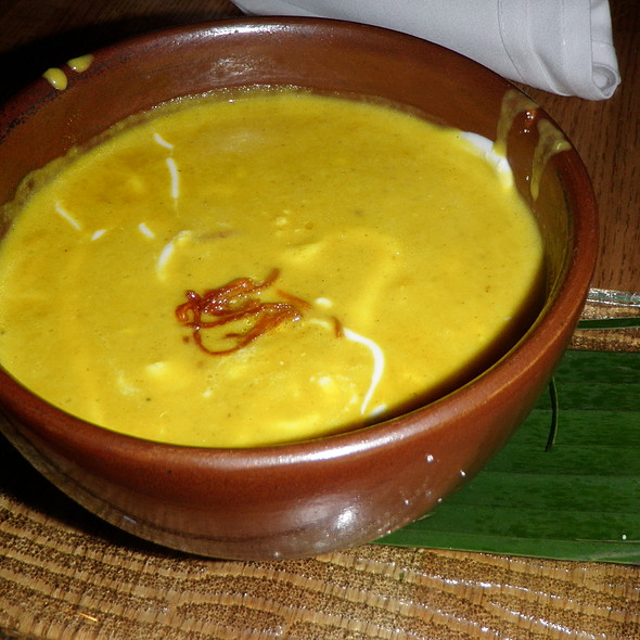 Butternut Squash Soup @ Verde Mexican Kitchen & Cantina