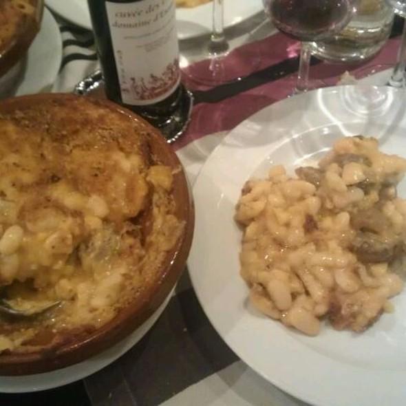 Cassoulet Aux Haricots Tarbais Et Aux Deux Confits (Porc Et Canard)  @ Le Bon Vivre