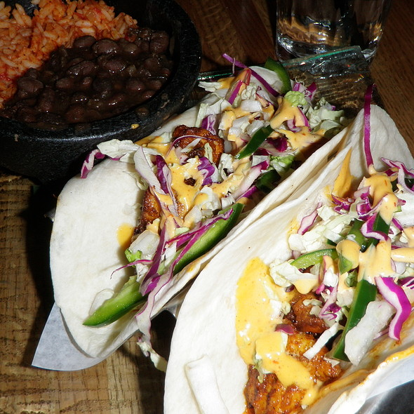Fish Taco @ Verde Mexican Kitchen & Cantina