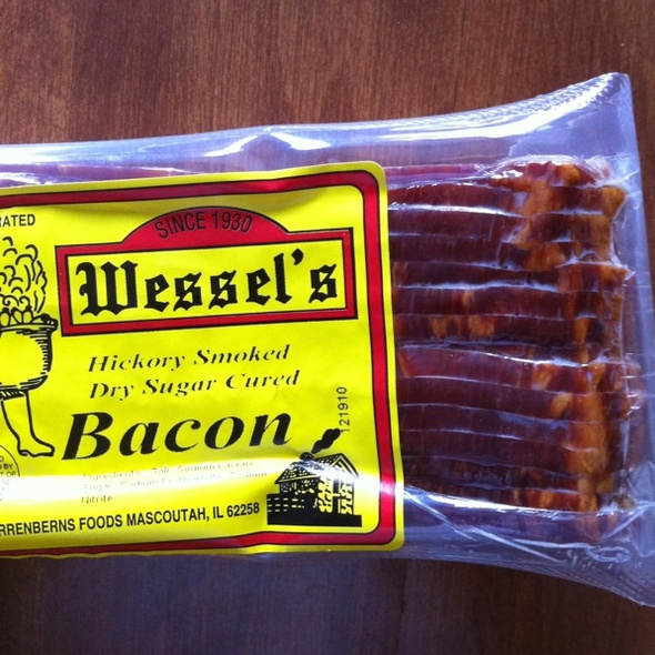 Hickory Smoked Bacon @ Wessel's Market