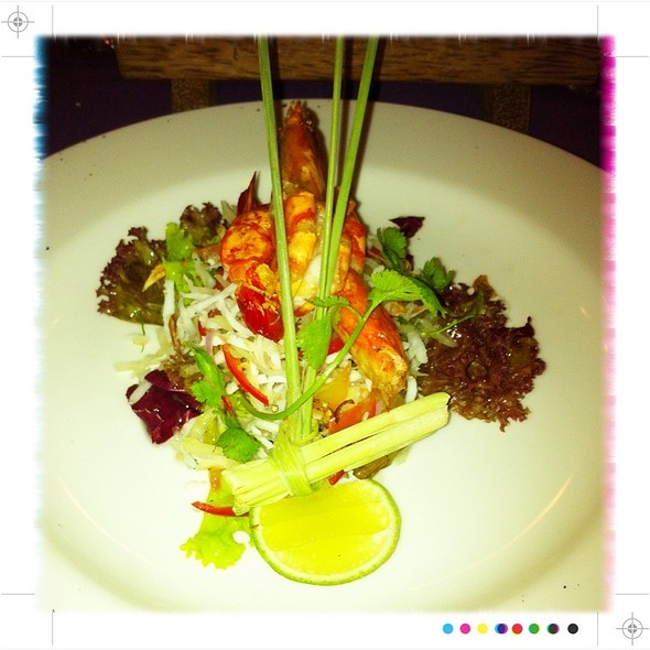 Green Papaya Salad @ Kayu Manis