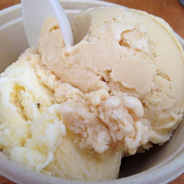 Bourbon Salted Caramel & Ginger Ice Creams