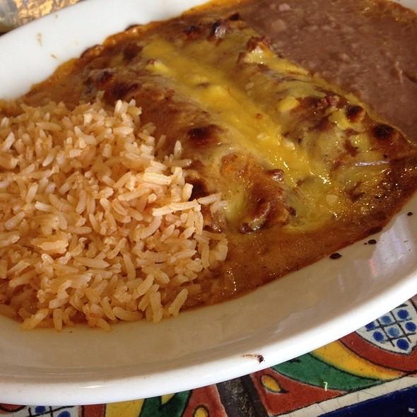 Cheese Enchiladas @ Maudie's Too