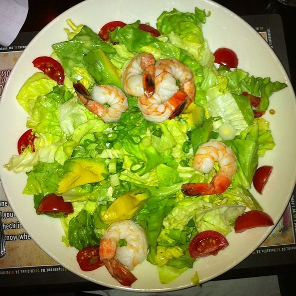 shrimp salad @ The Old Spaghetti Factory