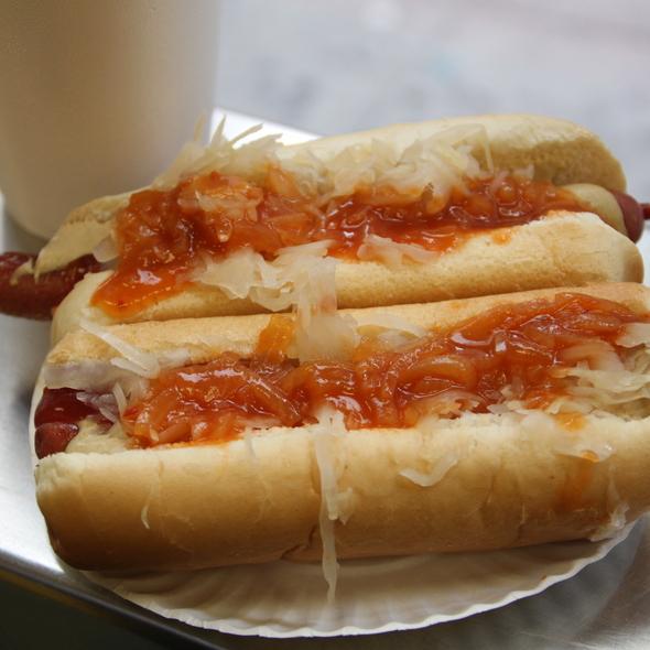 Hot Dog @ Gray's Papaya