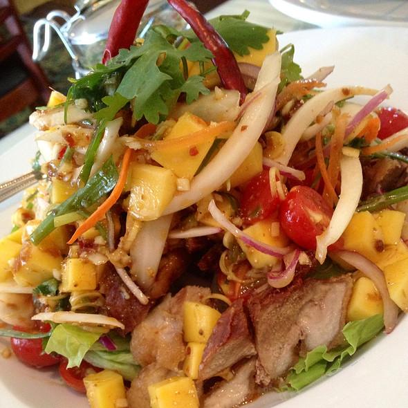 Crispy Duck Salad @ Weera Thai Restaurant