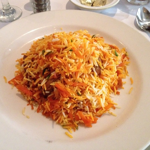 Shirin Polo With Chicken @ Pars Grill House & Bar