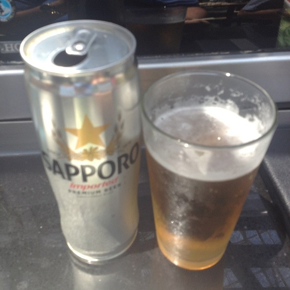 Sapporo Beer @ Wasabi's