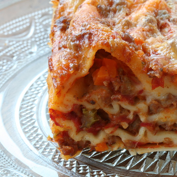 Home Made Lasagna  @ Homemade By Me