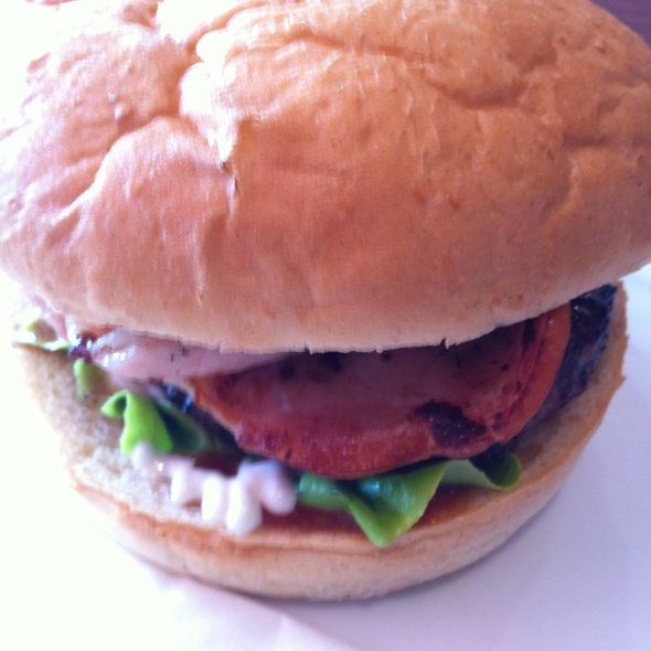 Loaded Hog Burger @ Urban Burger Browns Plains