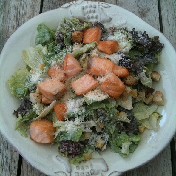 Caesar salad with salmon @ Primi