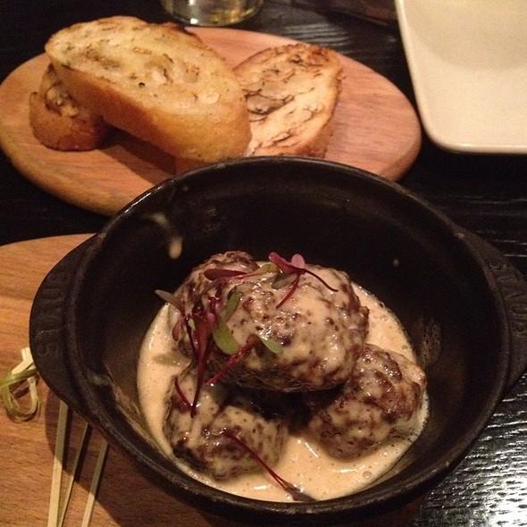 Veal Meatballs @ Sable Kitchen & Bar