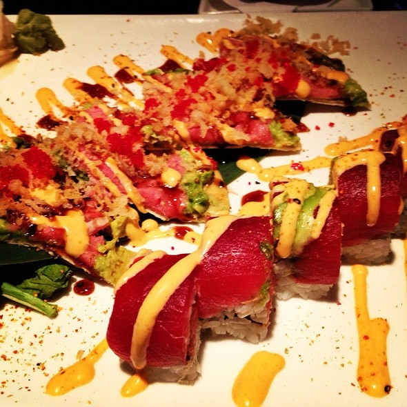 Spicy Tuna Sushi Pizza - Central Park - New Jersey, Roselle, NJ