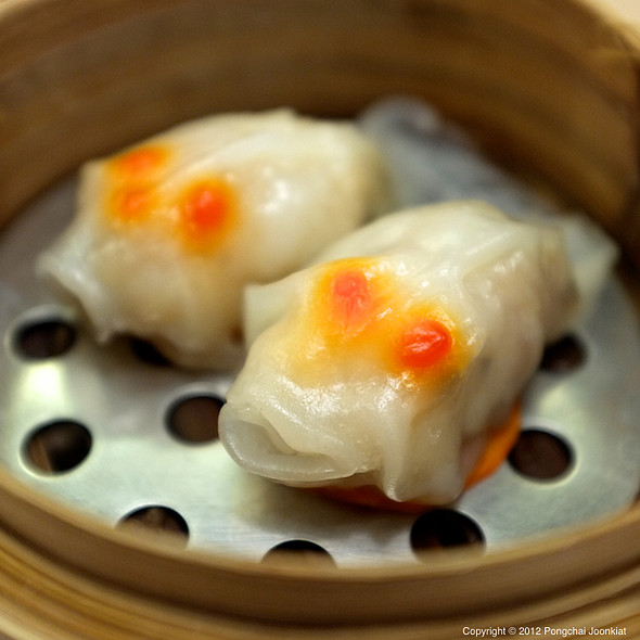 Fish Shaped Shrimp Dumplings @ Hong Min Yaowarat   ฮองมิน เยาวราช