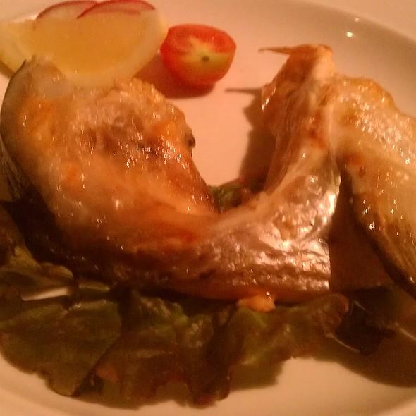 Salmon Cheek @ Inaho Restaurant