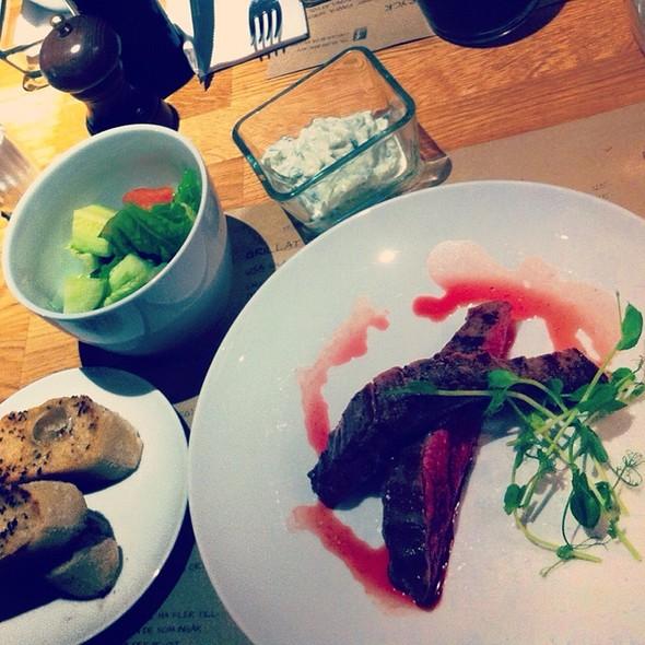 Black Angus Flank @ Sovel Kött & Grill