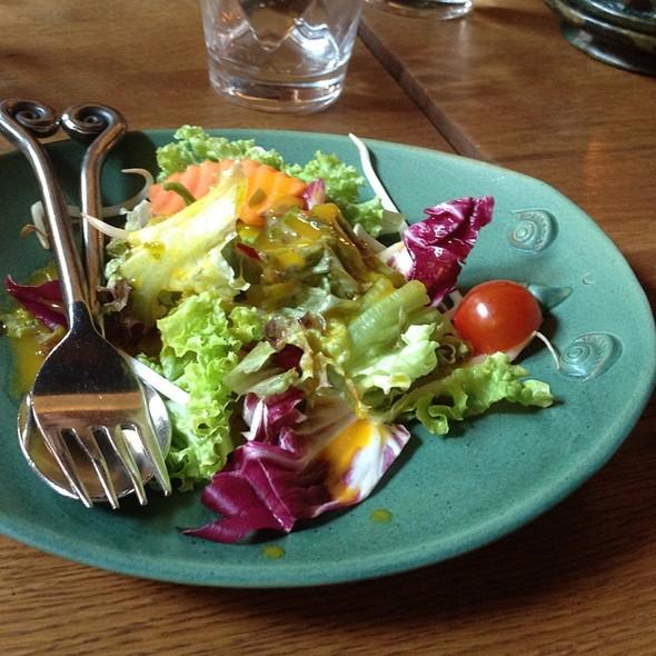garden salad @ Good Time Restaurant