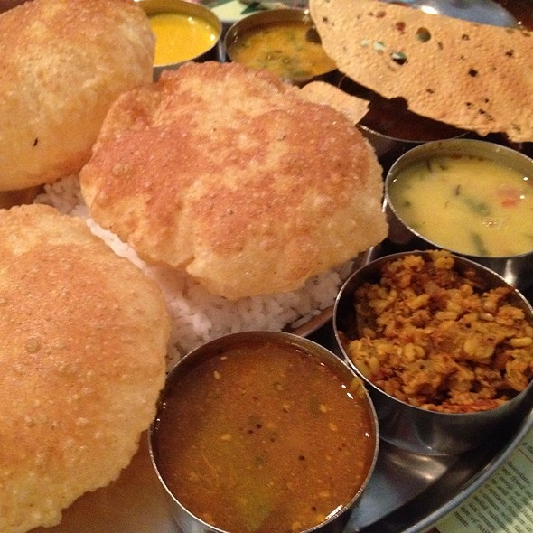 South Indian Thali @ Woodlands 活蘭印度素食