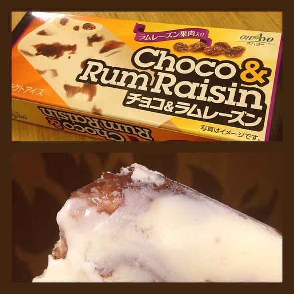 Choco Rum And Raisin