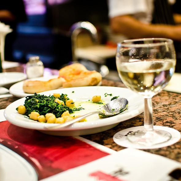 Espinacas Con Garbanzos @ Restaurant Cal Pep