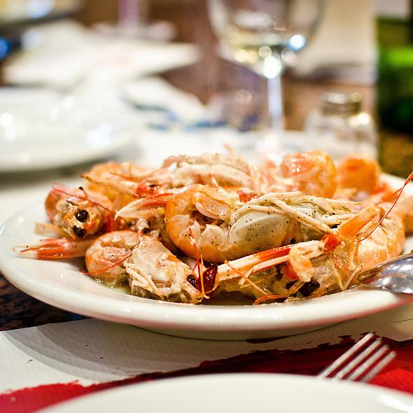 Langoustines @ Restaurant Cal Pep