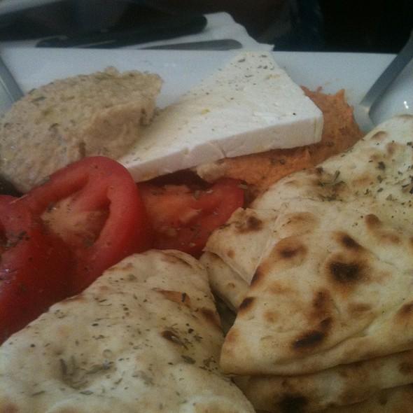 Hummus With Pita @ Paragon + Viva