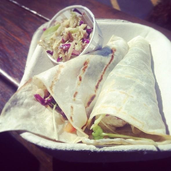 fish tacos @ Go Fish Ocean Emporium