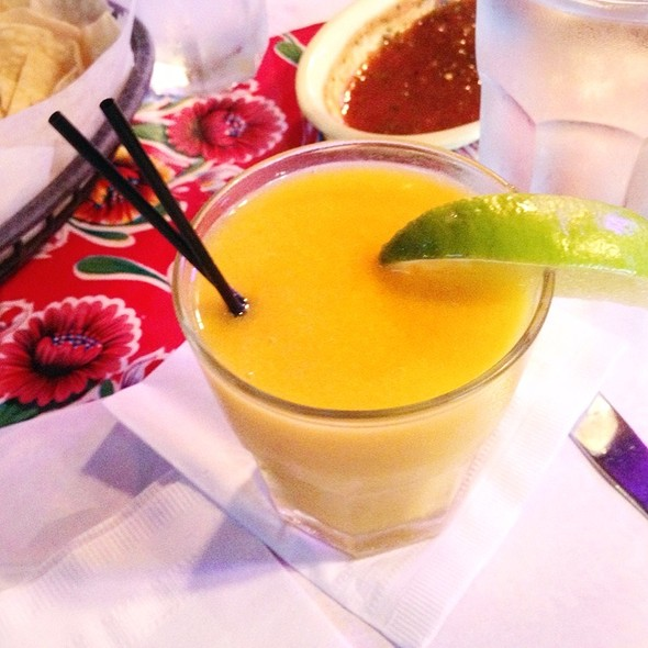 Mango Margarita @ Red Iguana Restaurant