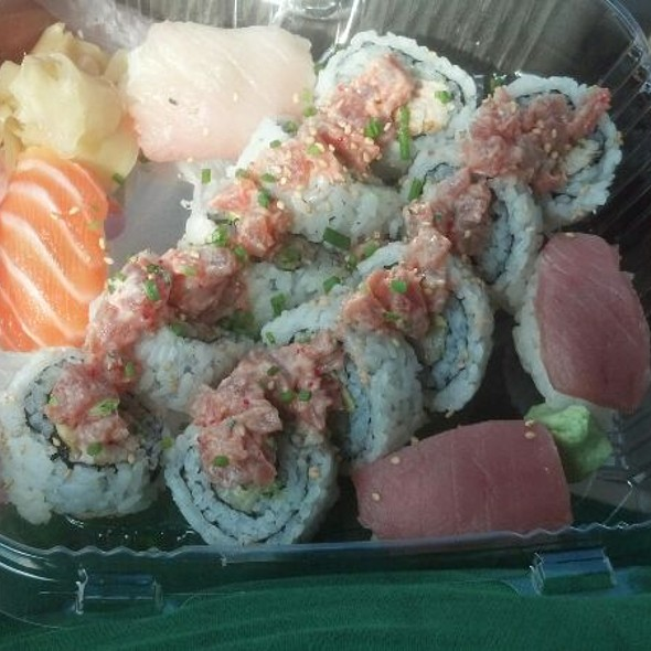 Sushi Combo @ On the Square