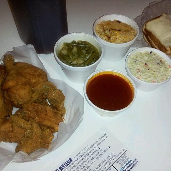 fried chicken @ Curly's Fried Chicken