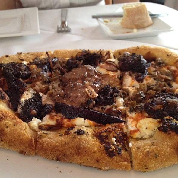 Foie Gras Pizza - Christopher's + Crush Lounge, Phoenix, AZ