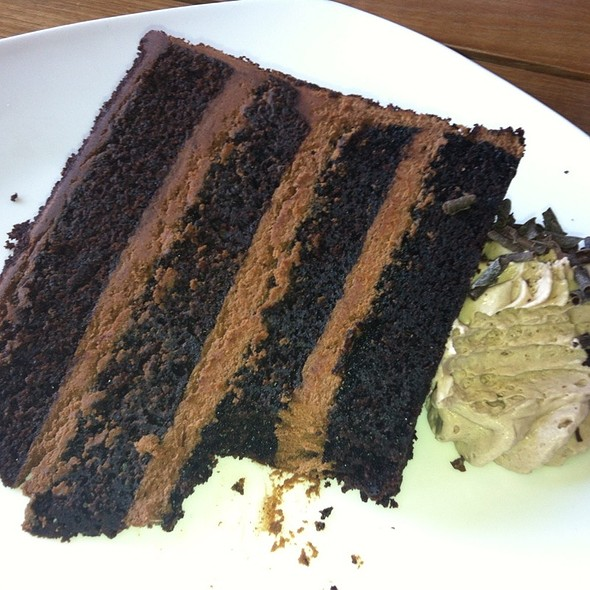 Triple Chocolate Cake - Tommy Bahama Laguna Beach Bar & Grill, Laguna Beach, CA