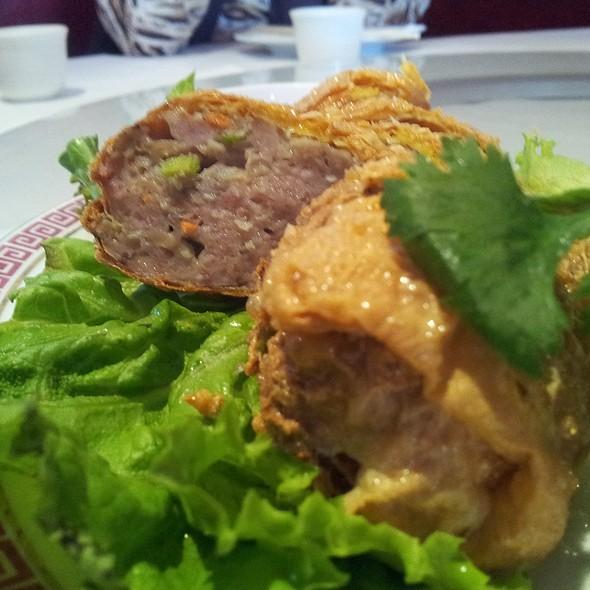 fried chicken roll @ Chiang's Gourmet Restaurant