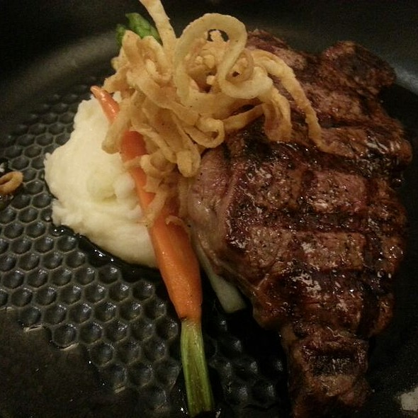Grilled New York Strip @ Sway