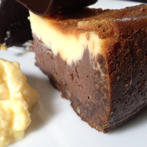Double Chocolate Cheese Cake @ The Gallery Café
