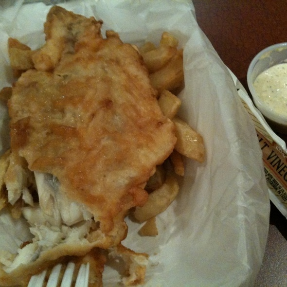 Fish and Chips @ A Salt and Battery