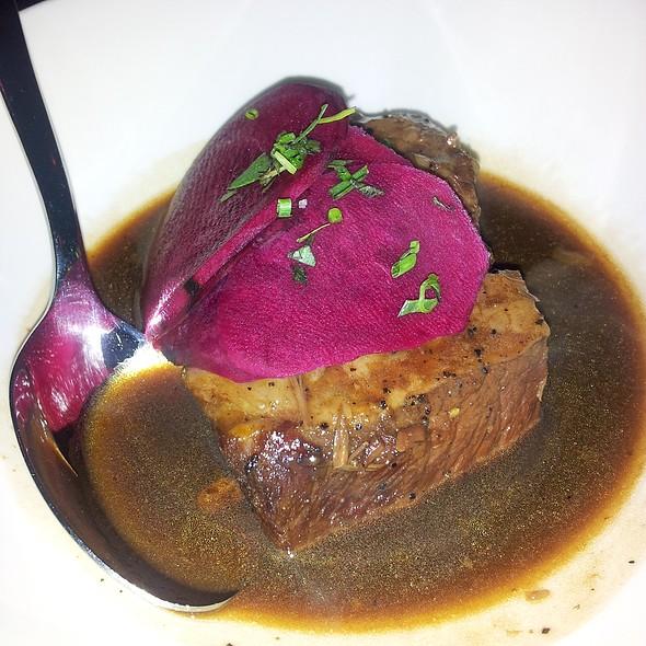 Espresso Rubbed Beef Short Ribs @ Lecosho