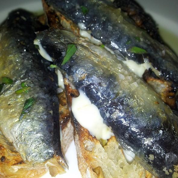 Grilled Sardine Tartine @ Lecosho