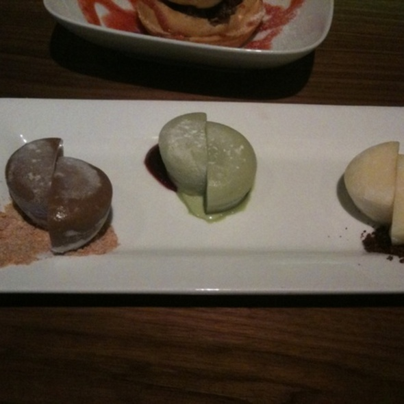 Mochi Ice Cream Trio @ Boom Noodle