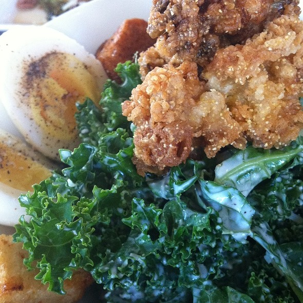 Kale Caesar Salad @ Brooklyn Girl Eatery And Bar