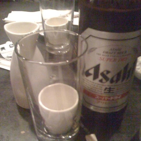 Saki Bomb @ Miyake Restaurant